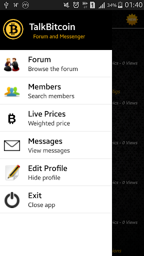 TalkBitcoin: Forum Messenger