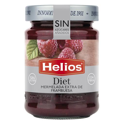 mermelada sin azucar helios frambuesa diet 280g