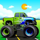 Monster Truck City Surfer