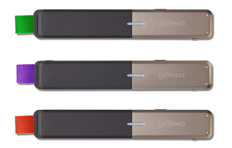 goTennas: Attach it to your smartphone and give one to your traveling companion.