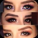 tutorial de maquillaje de ojos icon