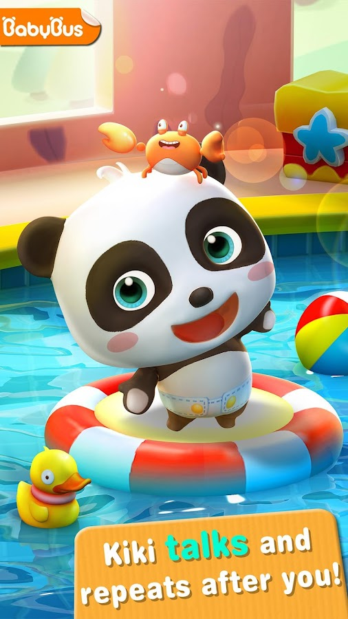 baby panda game for kids
