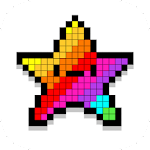 Pixel Coloring Book Game Icon
