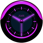 A-PURPLE Laser Clock Widget icon