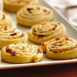 Crescent Bacon-Cheddar Pinwheels.