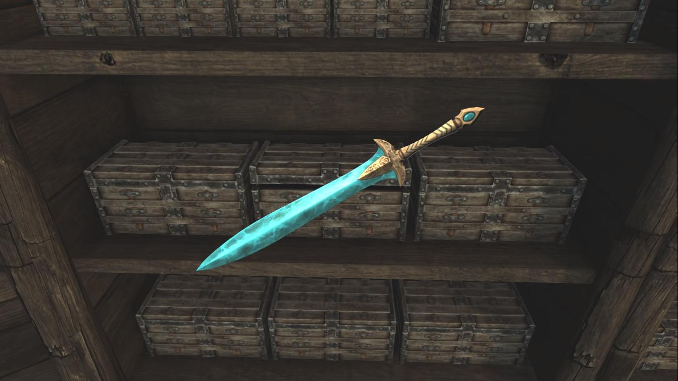 Skyrim weapon appearance mod