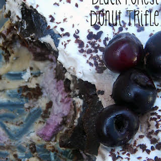Black Forest Donut Trifle.