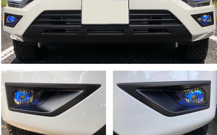 デリカD:5 CV1Wの新型デリカ,デリカd5,フォグランプ交換,#フォグランプ2色切替,ナイト撮影に関するカスタム&メンテナンスの投稿画像3枚目