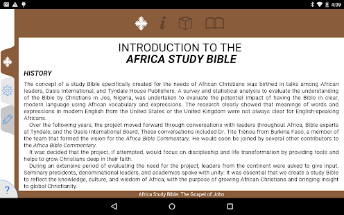 What book of the bible was written in africa