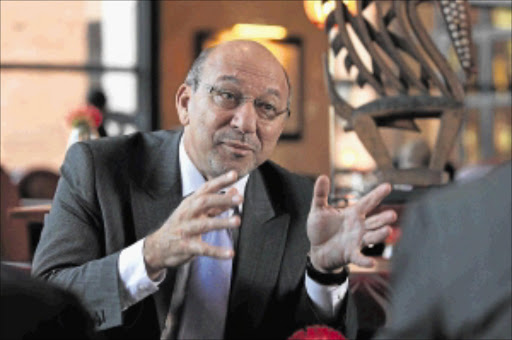 Well done: Planning Minister Trevor Manuel has praised Crime Line. PHOTO: Raymond Preston
