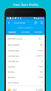 Tally on Mobile: Biz Analyst | Tally Mobile App 5