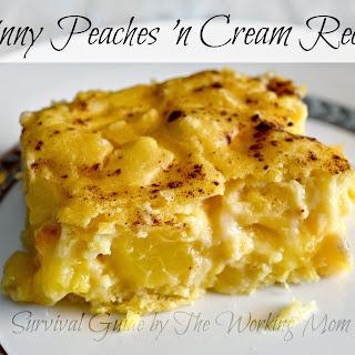 Skinny Peaches 'N Cream
