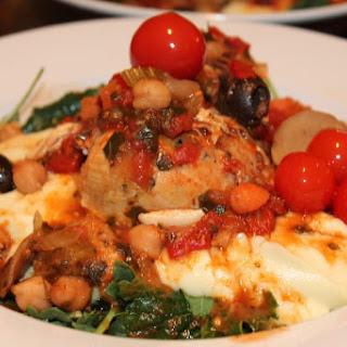 Braised Skinny Mediterranean Chicken