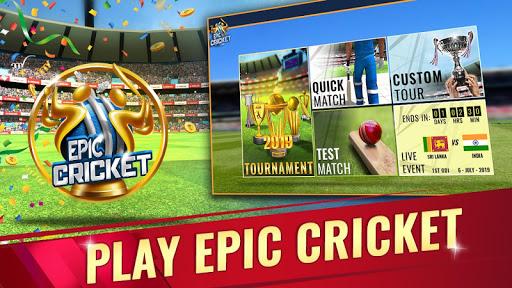 Epic Cricket - Best Cricket Simulator 3D Game 2.65 screenshots 1