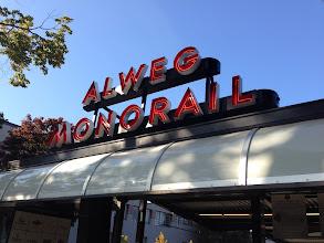 Photo: Alweg Monorail