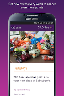 Nectar - Offers and Rewards- screenshot thumbnail
