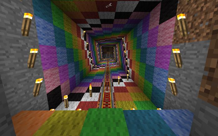 Minecraft Blocky Bliss By Frantic Cartridge Club