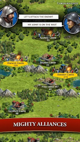 android Lords & Knights - Strategy MMO Screenshot 12