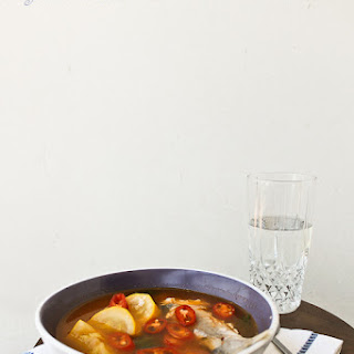 Easy Spicy Fish Soup (Korean-style)