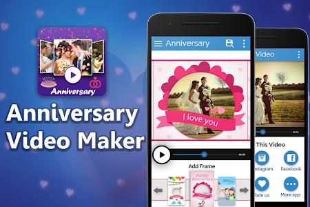 Anniversary Video Movie Maker screenshot 0