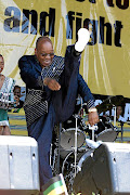 Former president Jacob Zuma  brought song,  dance and scandal to the office. Image: SIYABONGA MOSUNKUTU