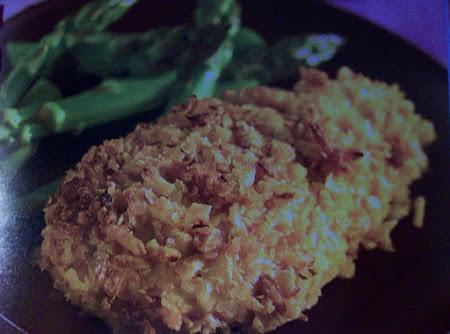 3 ingredient Honey Mustard Crispy Chicken by freda Recipe