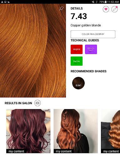 Style My Hair Pro 1.6 screenshots 8