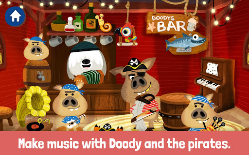 Screenshot for WoodieHoo Pirates in United States Play Store