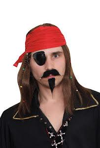 Peruk, Pirat med röd bandana