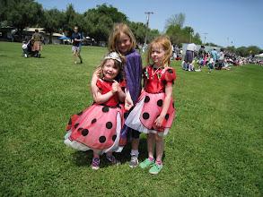 Photo: Fianna, Georgia and Charlotte