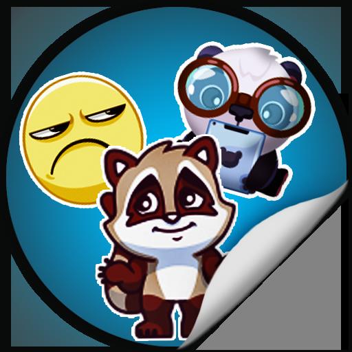 Smiles and Stickers 社交 App LOGO-APP試玩