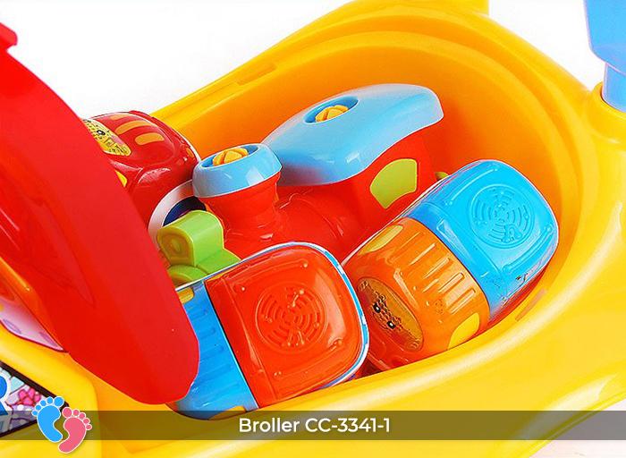 Xe chòi chân đồ chơi Broller CC-3341-1 8