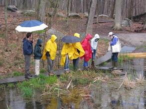 Photo: Audubon magazine staff at Greenwich Audubon.
