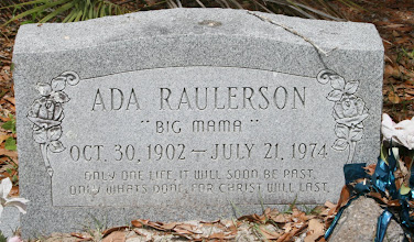 Photo: Ada Raulerson daughter of Daniel A Raulerson and Laura Mizell / Wife of James Raulerson