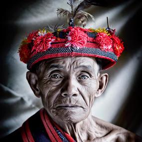 Apong Binwag by Maybelle Blossom Dumlao-Sevillena - People Portraits of Men ( senior citizen )