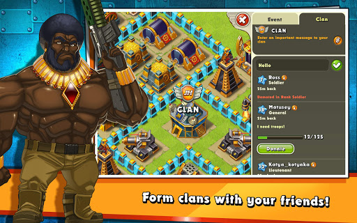 Jungle Heat: War of Clans screenshot 8