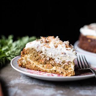 Coconut Carrot Cake Cheesecake..