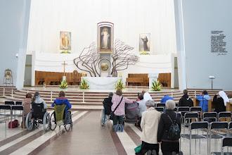 Photo: Tichá modlitba v Bazilike Božieho milosrdenstva