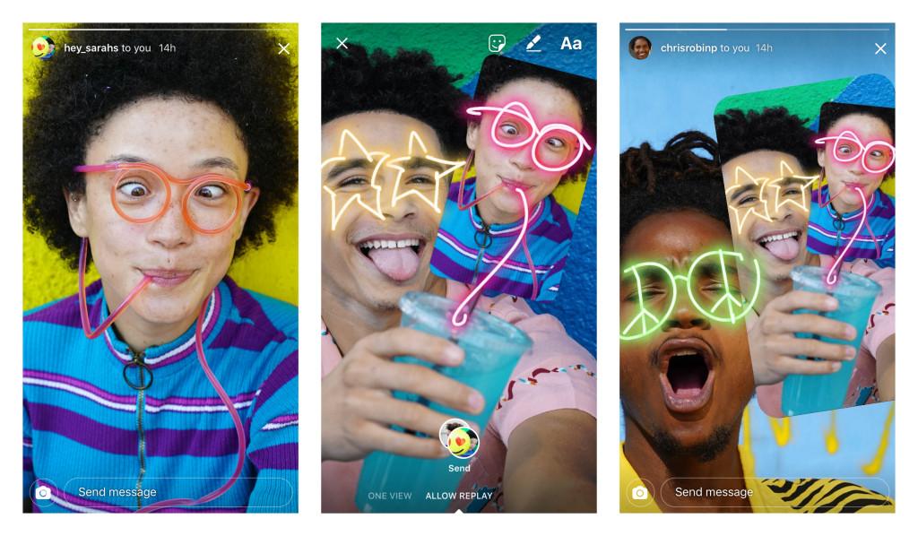 edit a friends photo in Instagram