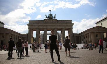 Photo: Brama Brandenburska - Berlin
