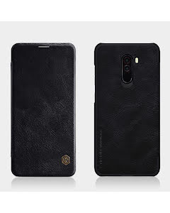 Nillkin QIN Smartcase in genuine Leather for Xiaomi Pocophone F1