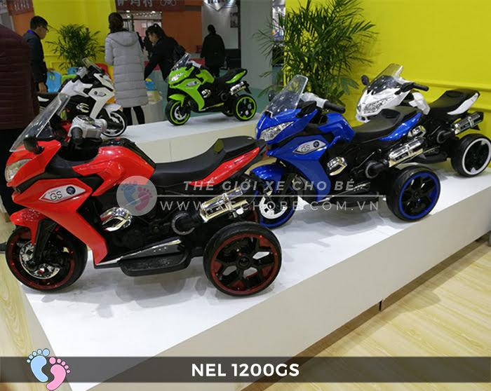 Moto điện 3 bánh cho bé NEL-1200GS 2