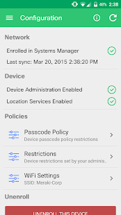 Meraki Systems Manager- screenshot thumbnail
