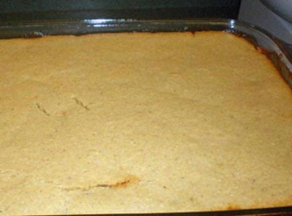 Brock's Sweet Cornbread Recipe