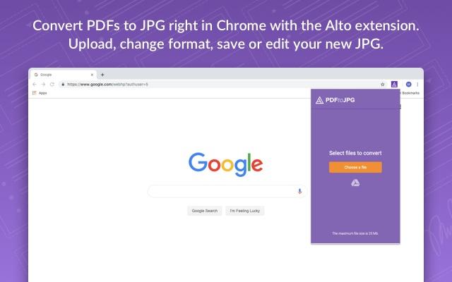 Alto PDF to JPG Converter by PDFfiller