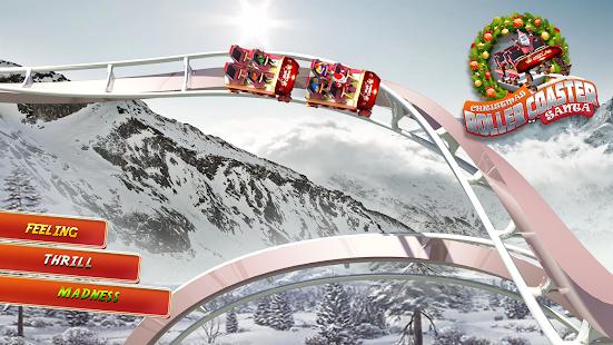 Christmas Santa Roller Coaster Adventure Sim 2018 - náhled