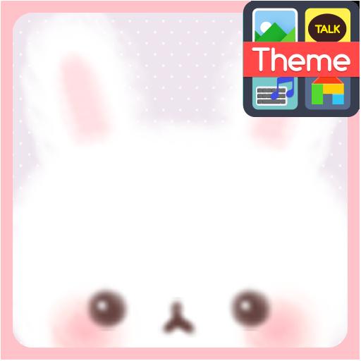 Fluffy bunny 카카오톡 테마