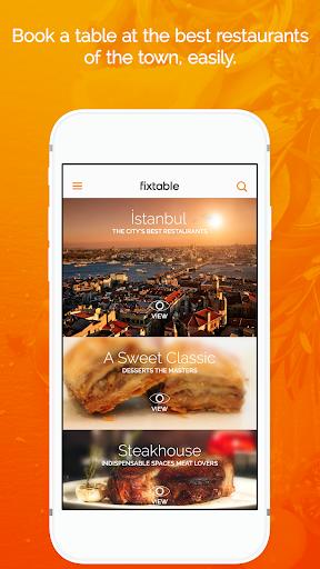 Fixtable - Restaurant Reserve