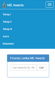 ME Awards - náhled