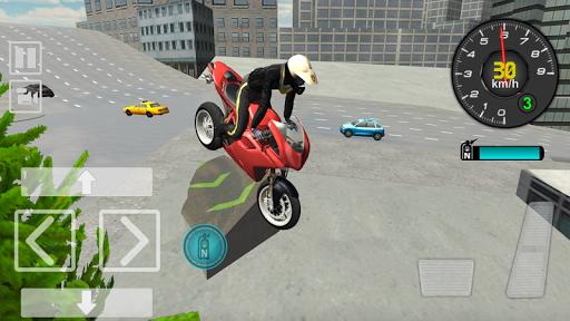 Police Motorbike Driving Simulator apktram screenshots 5